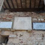 Lapidi, lastre e cippo a ricordo rastrellamento e eccidio di Vestignano