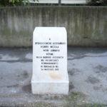 Cippo ai marinai semaforisti a Senigallia