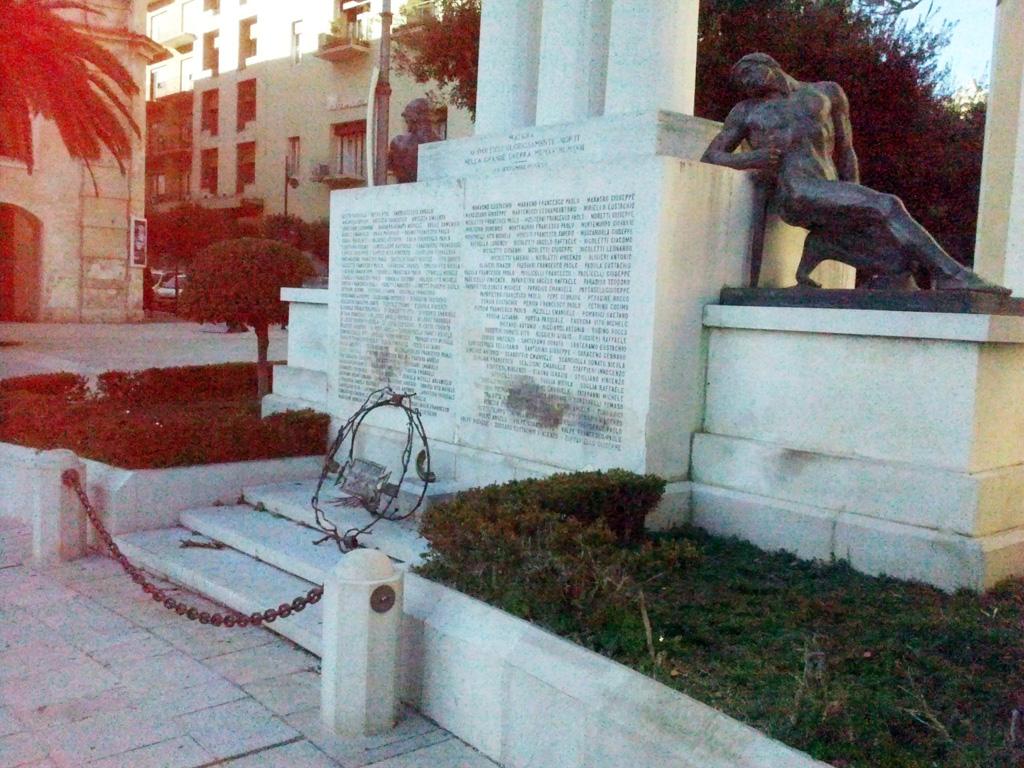 Monumento Caduti Di Matera Pietre Della Memoria