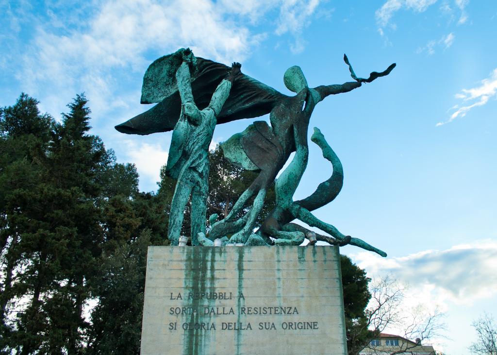 Monumento Alla Resistenza Di Ancona Al Parco Del Pincio