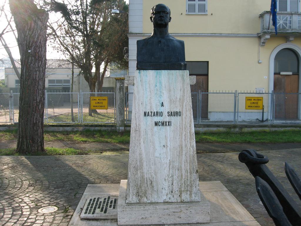 I Sarti Italiani Montelepre monumento a nazario sauro – marina di ravenna | pietre della