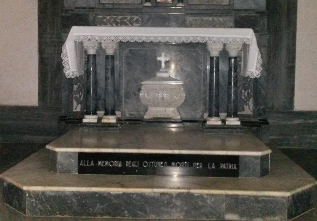 Santa Maria Del Bagno Pesche.Cappella Dei Caduti Nella Chiesa Di Santa Maria Delle Grazie