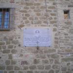 muro della canonica della chiesa di Morleschio