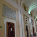 Lapide bollettino della Vittoria al palazzo dell'Università di Perugia