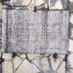 Lastra commemorativa piazza delle Rimembranze