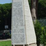 Stele alla M.O.V.M. alla Bandiera della R. A. – Scuola Specialisti A.M. – Caserta