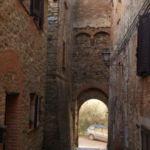 nterno del castello di Poggio delle Corti - Porta principale.