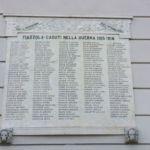 Lapide ai Caduti della Grande Guerra