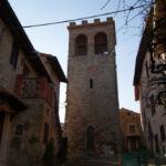 Torre del castello di Montepetriolo