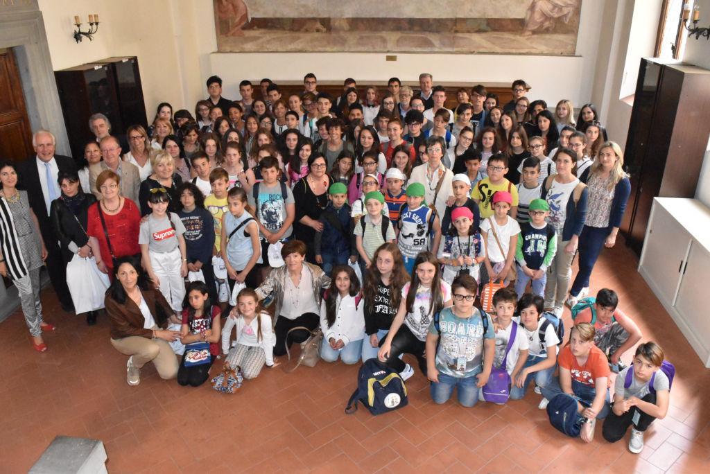 Premiazione Esploratori Toscana a Firenze 2017