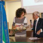 Esploratori della Memoria Liguria - Prof.ssa Mariaurelia Viotti dirigente del liceo classico Andrea D'Oria che ha ospitato la cerimonia