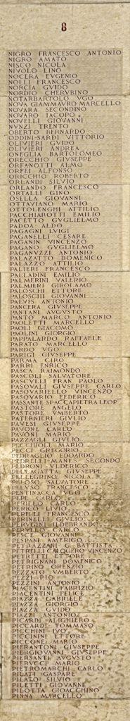 Lapidario ai Caduti dell'Accademia Militare – Modena