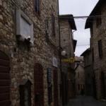 Lapide di Via Roma a Montecastello di Vibio Pg