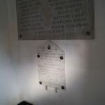 Memoriale di Pian di S. Martino, seconda lastra di destra