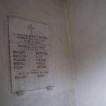 Memoriale di Pian di S. Martino, lastra di sinistra