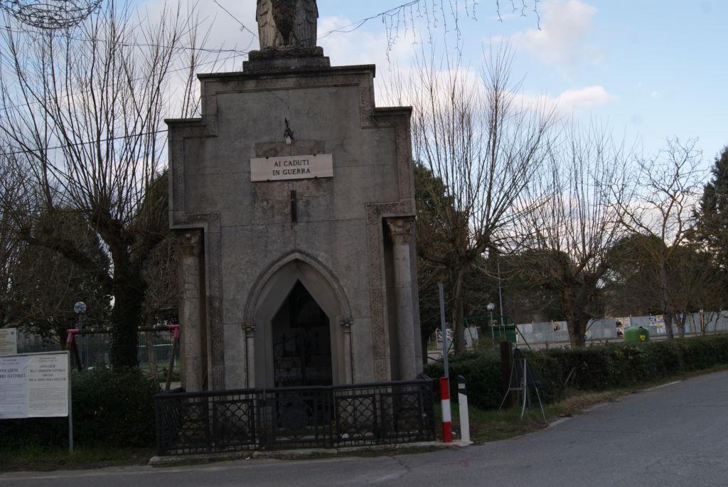 Memoriale di Pian di S. Martino facciata esterna