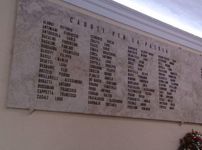 Lapide commemorativa dei Caduti per la Patria – Fermo (FM)  5e3228726479