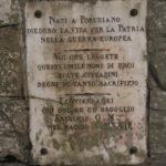 MONUMENTO DI PORCHIANO, DEDICA