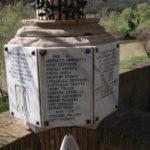 MONUMENTO DI PONTECUTI, PARTICOLARE DELLE LASTRE