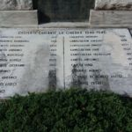 iscrizioni lastra lato sud