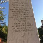 iscrizioni cippo