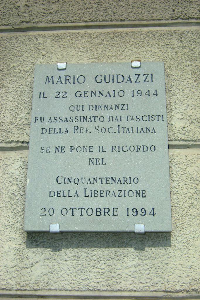 Lastra a Mario Guidazzi – Cesena | Pietre della Memoria