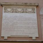 Lapide proclama Vittorio Emanuele 26 maggio 1915