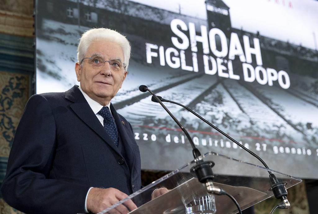presidente della repubblica mattarella shoah giorno memoria