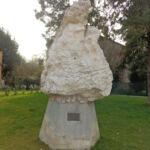 cippo del Montegrappa donato al comune di Boretto 1968